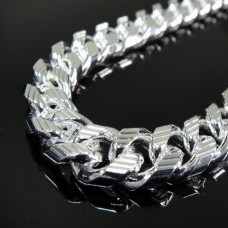 925 Silver Heavy Classic Rolo Chain Necklace - SN10