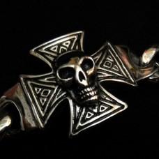 Skull Bracelet for Motor Biker - TB27