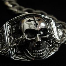 Skull Bracelet for Motor Biker - TB30