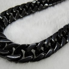 """23.5"""" Rolo Chain Classical Necklace - TN68"""