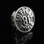 81 Support World Biker Ring - TR153