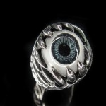 316L Stainless Steel Eye Ring - TR127